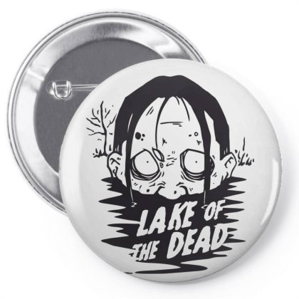 Lake Of The Dead Pin-back Button Designed By Estore