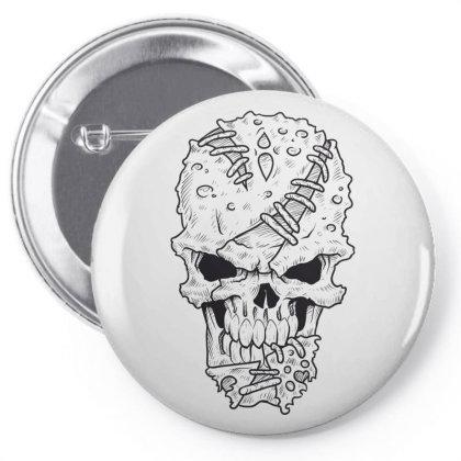Skull Pin-back Button Designed By Estore