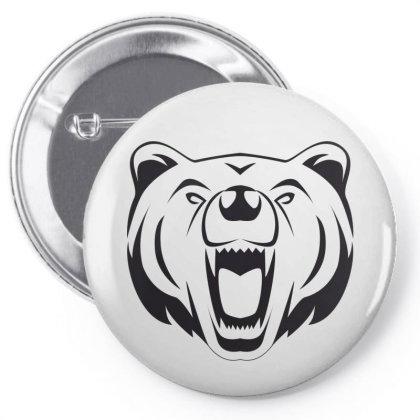 Bear Pin-back Button Designed By Estore