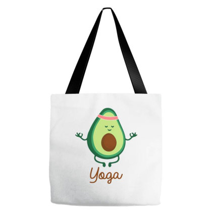 Yoga Meditation Tote Bags Designed By Badaudesign