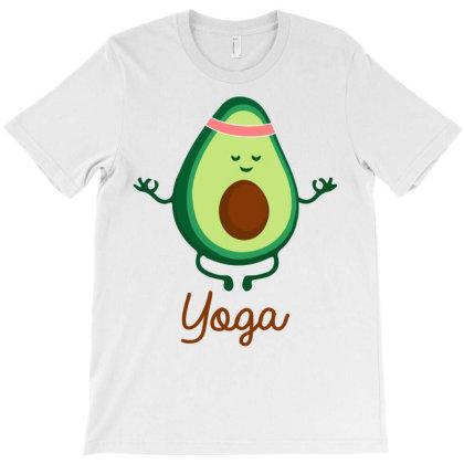 Yoga Meditation T-shirt Designed By Badaudesign