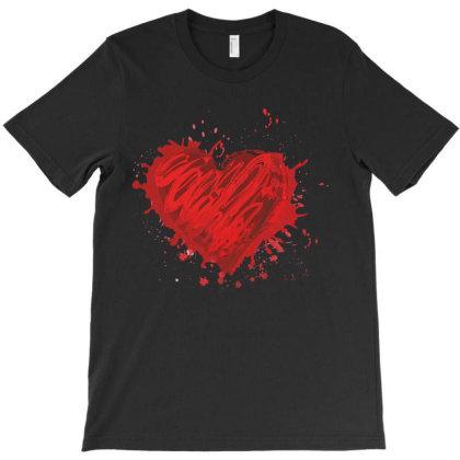 Heart T-shirt Designed By Estore