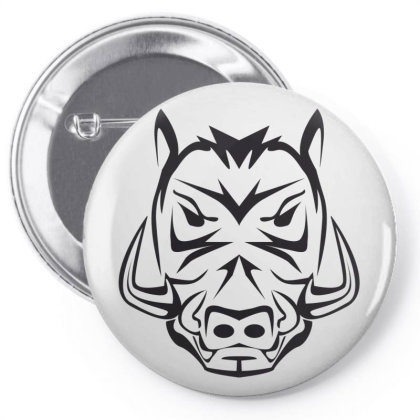 Pig Pin-back Button Designed By Estore