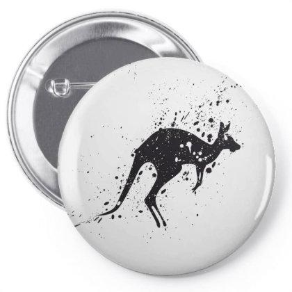 Kangaroo Pin-back Button Designed By Estore