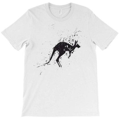 Kangaroo T-shirt Designed By Estore