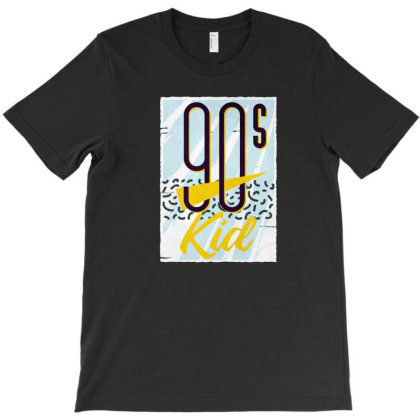 90's Kid T-shirt Designed By Dirjaart