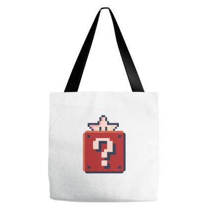 A Pixelated Box Tote Bags Designed By Dirjaart