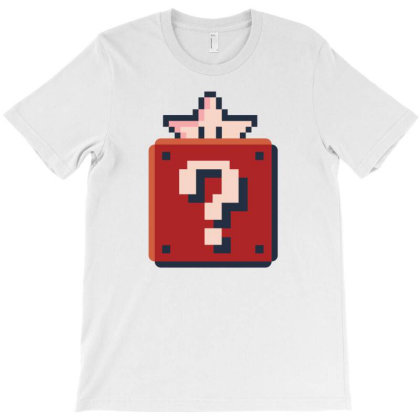 A Pixelated Box T-shirt Designed By Dirjaart