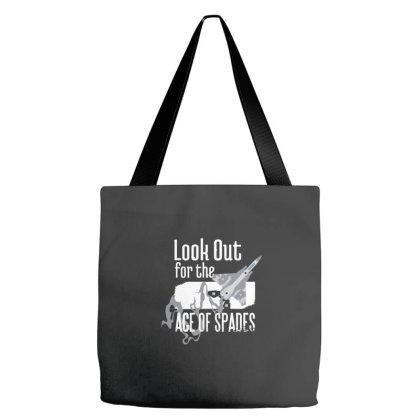 Ace Of Spades Aviator Tote Bags Designed By Dirjaart