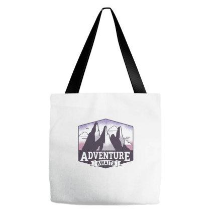 Adventure Awaits 1 Tote Bags Designed By Dirjaart
