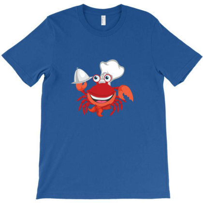 Crab Chef T-shirt Designed By Sr88