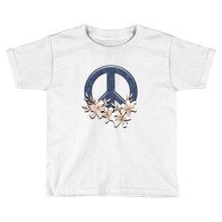 peace floral Toddler T-shirt | Artistshot