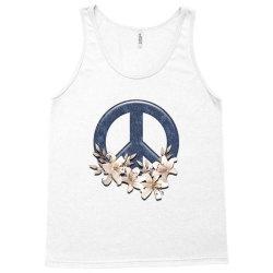 peace floral Tank Top   Artistshot
