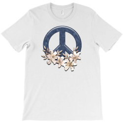 peace floral T-Shirt   Artistshot