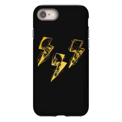 Lightning Skull Gold Iphone 8 Case Designed By Gurkan