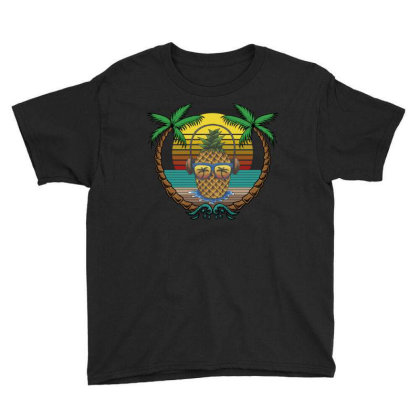 Tropical Summer Youth Tee Designed By Gurkan