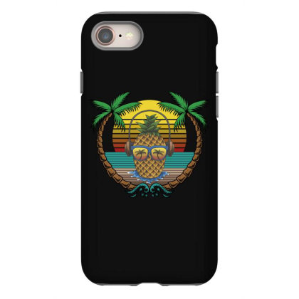 Tropical Summer Iphone 8 Case Designed By Gurkan