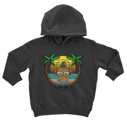 Tropical Summer Toddler Hoodie Designed By Gurkan