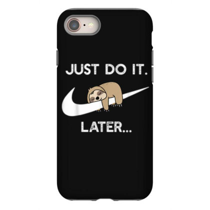 Funny Sleepy Sloth For Lazy Sloth Lover Iphone 8 Case Designed By Mrt90