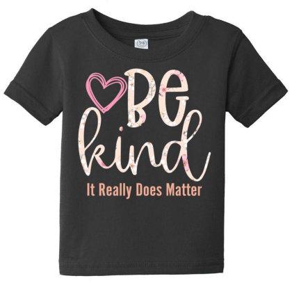 Be Kind Baby Tee Designed By Sengul