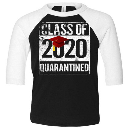 Class Of 2020 Quarantined For Dark Toddler 3/4 Sleeve Tee Designed By Sengul