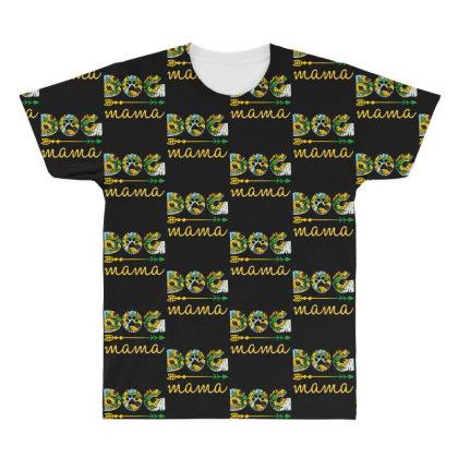 Dog Mama All Over Men's T-shirt Designed By Sengul