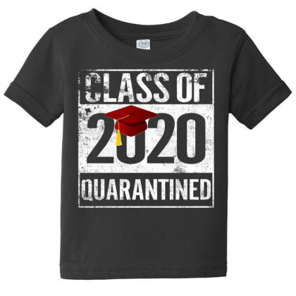 Class Of 2020 Quarantined For Dark Baby Tee Designed By Sengul