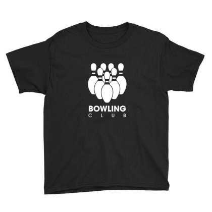 Bowling Club Youth Tee Designed By Sr88