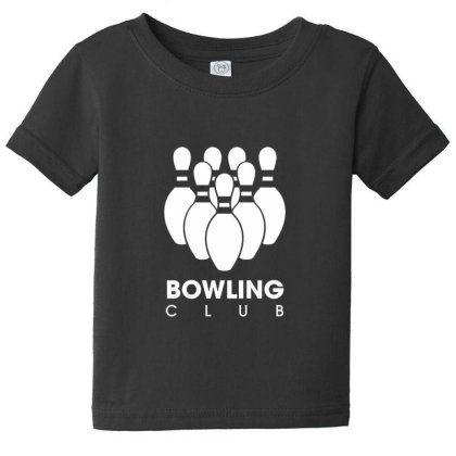 Bowling Club Baby Tee Designed By Sr88