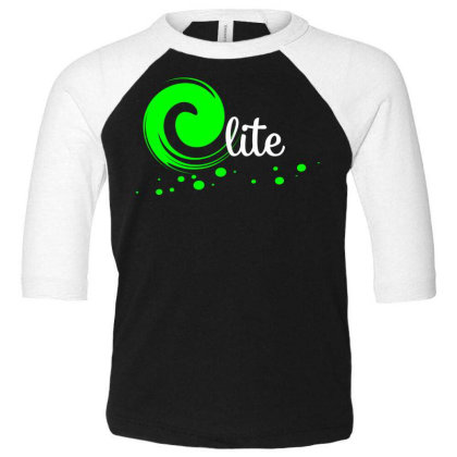 Elite Design Toddler 3/4 Sleeve Tee Designed By Supa Curtail