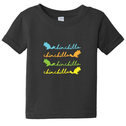 Chinchilla Pet Lover Baby Tee Designed By Sr88
