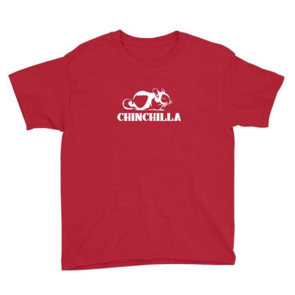 Cute Chinchilla Youth Tee Designed By Sr88