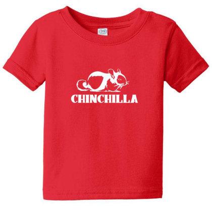 Cute Chinchilla Baby Tee Designed By Sr88