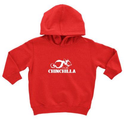 Cute Chinchilla Toddler Hoodie Designed By Sr88