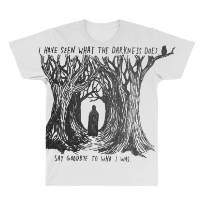 Meet Me In The Woods All Over Men's T-shirt Designed By Starks
