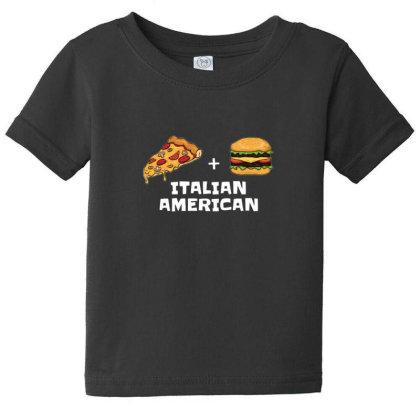 Pizza Italian Hamburger Usa Baby Tee Designed By Sr88