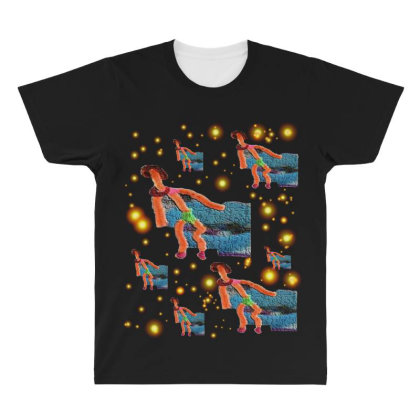 Dragging The Wall All Over Men's T-shirt Designed By Zanzzi