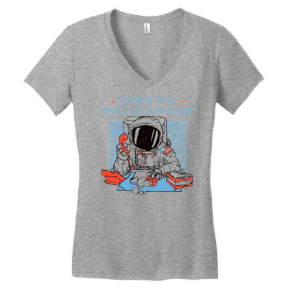Dress For The Job You Want Women's V-neck T-shirt Designed By Starks