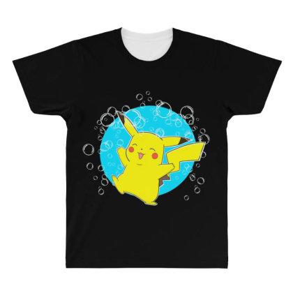 Bubble Monster All Over Men's T-shirt Designed By Starks