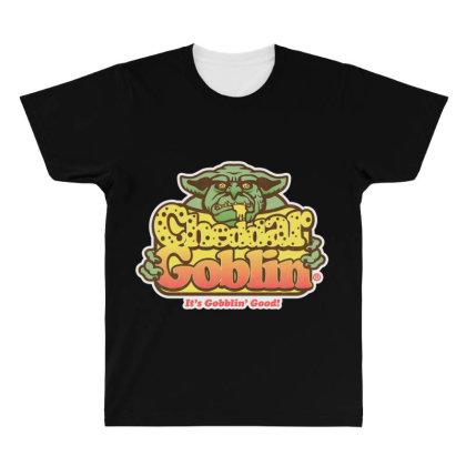 Cheddar Goblin All Over Men's T-shirt Designed By Starks