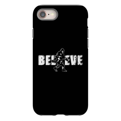 Bigfoot Believe Iphone 8 Case Designed By Starks