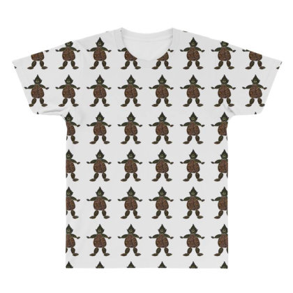 Find The Dog All Over Men's T-shirt Designed By Zanzzi