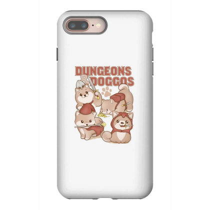 Dungeons & Doggos Iphone 8 Plus Case Designed By Starks