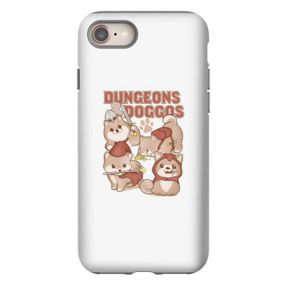Dungeons & Doggos Iphone 8 Case Designed By Starks