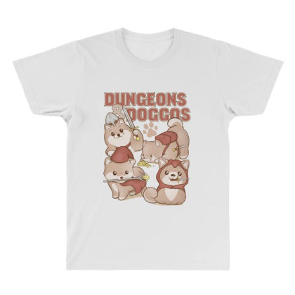 Dungeons & Doggos All Over Men's T-shirt Designed By Starks