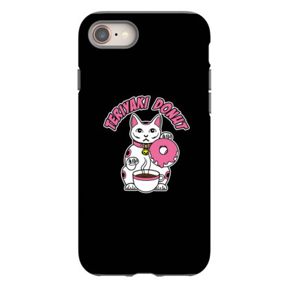 Donuts Cat Logo Iphone 8 Case Designed By Starks
