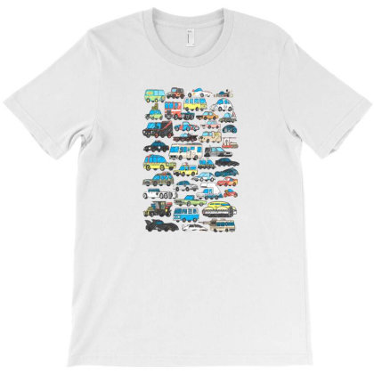Famous Cars T-shirt Designed By Starks