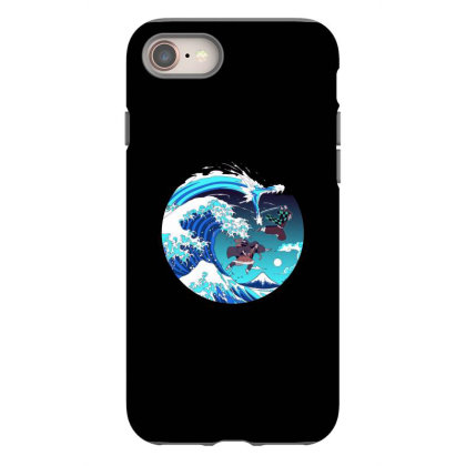 Breath Of The Great Wave Iphone 8 Case Designed By Starks
