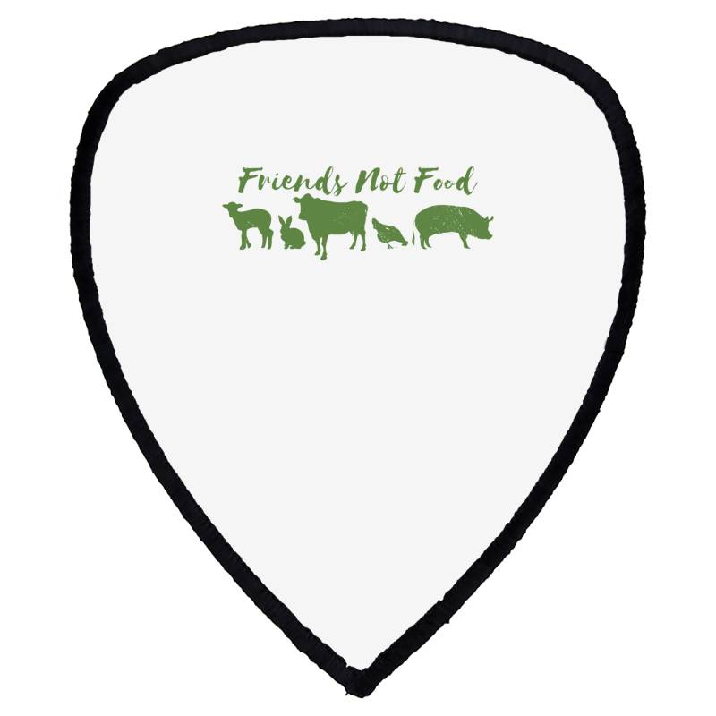 Animal Friends Vegan Shield S Patch | Artistshot