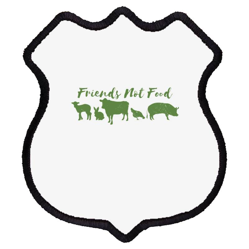 Animal Friends Vegan Shield Patch | Artistshot